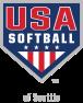 USA Softball logo